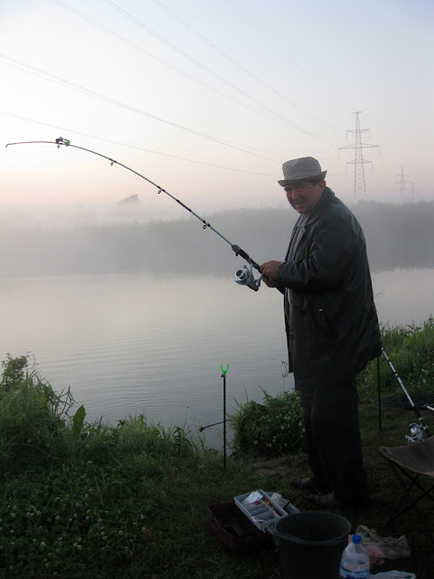 рыбалка в тумане