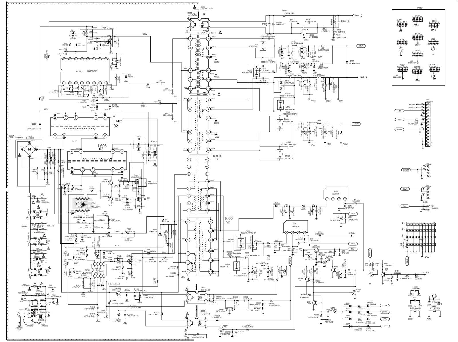 Electronic Equipment Repair Centre Sanyo Lcd 47s10 Hd