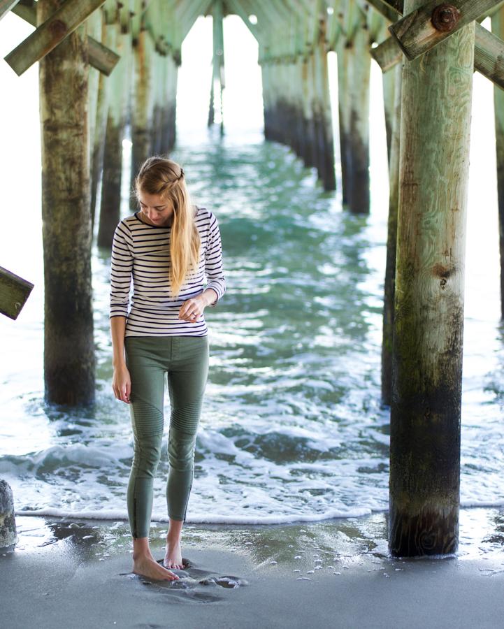 Myrtle Beach Girl Pier