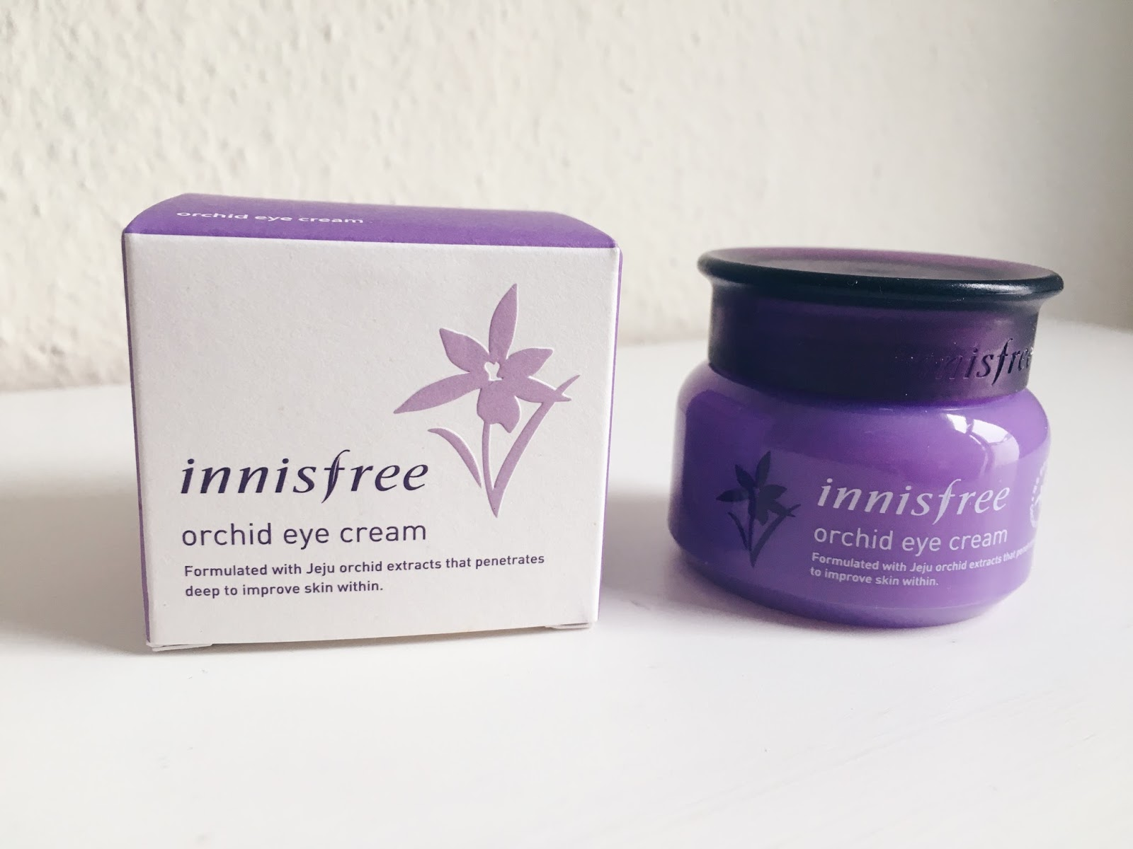 Innisfree Orchid Eye Cream Review Giselle Arianne Skin Is Not So New Addition To My Skincare Ive Started Incorporating It As Part Of Routine For More Than A Year Now When I Discovered