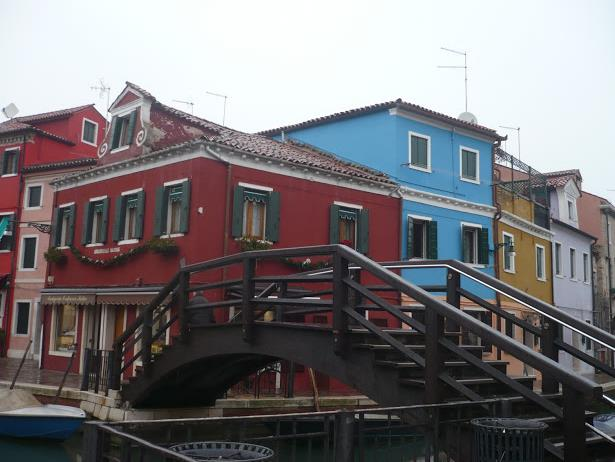 case colorate Burano