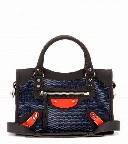 Balenciaga's Mesh City Bags