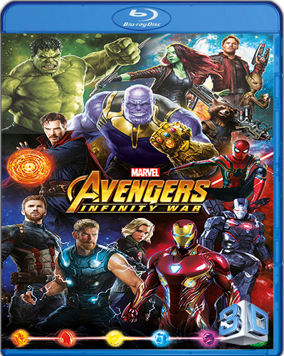Avengers: Infinity War [2018] [BD50] [Latino] [3D]