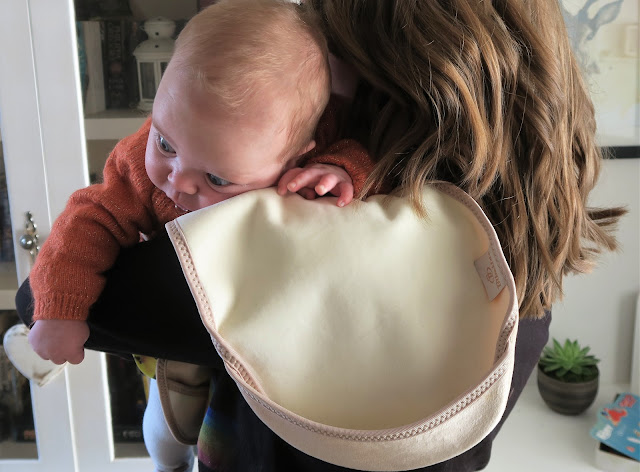 Bibetta Luxury Burp Cloth and Freyja
