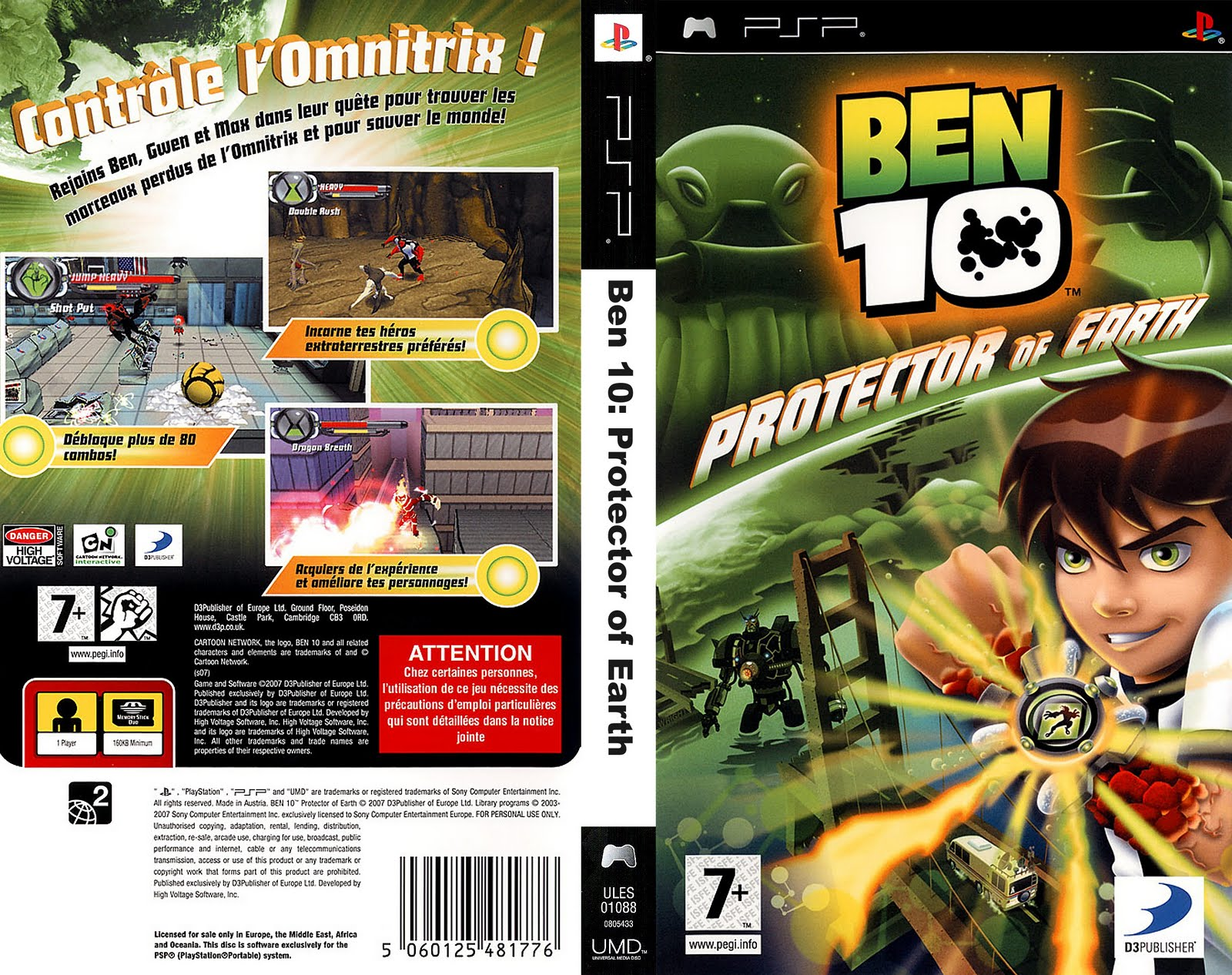 Ben 10 Protector Of Earth Ps2 – Wonderful Image Gallery
