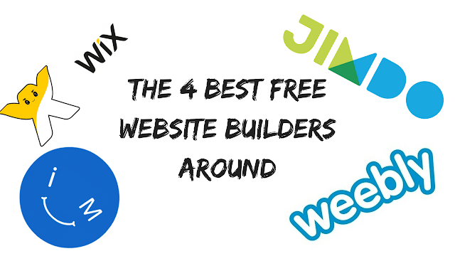 The Best Free Website Builders you can Use
