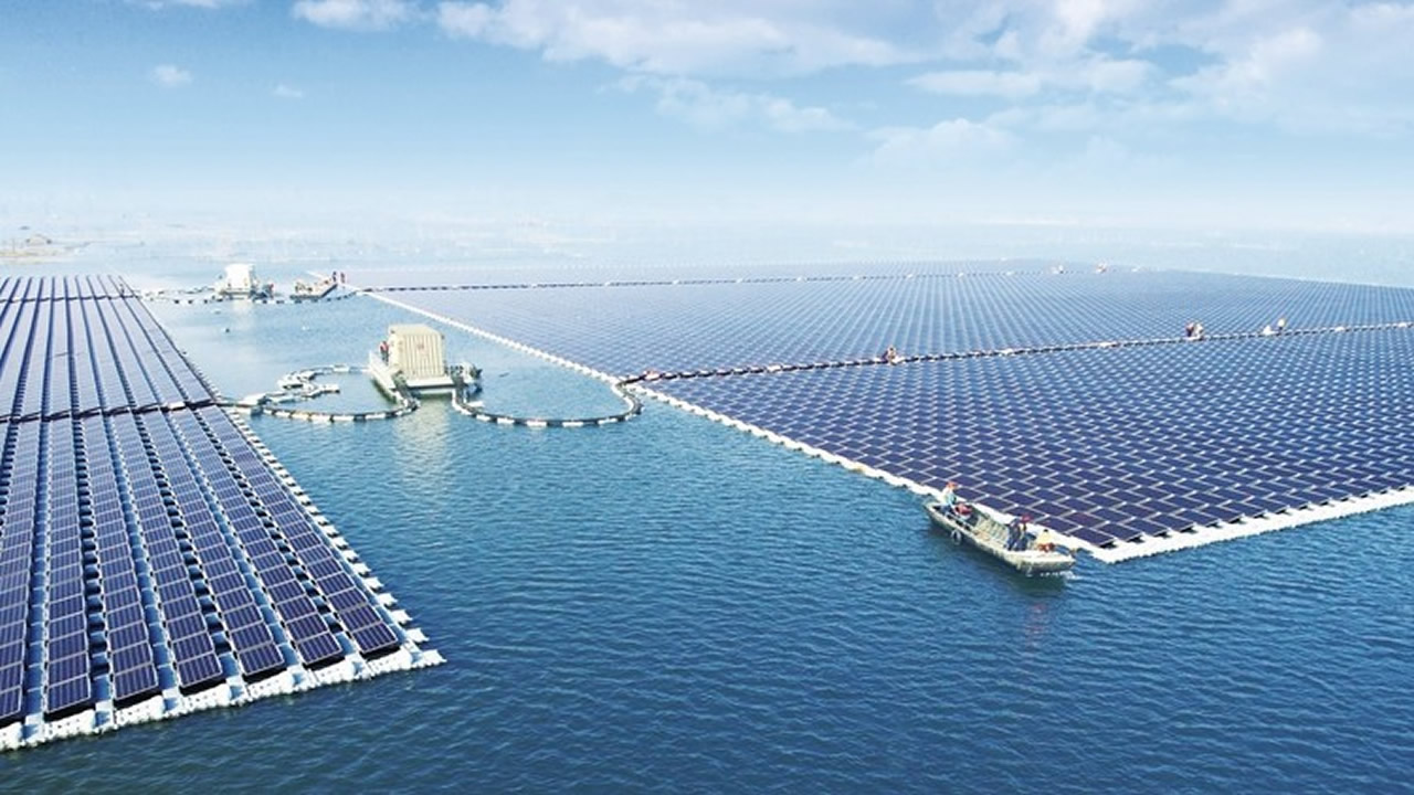 China implementa la mayor planta flotante de energía solar del mundo