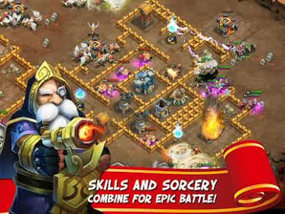 Castle Clash: Age of Legends v1.2.8 Apk-screenshot-2