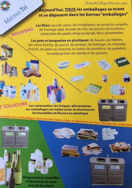 Recycling in the Deux-Sèvres and Charente Calitom French Village Diaries