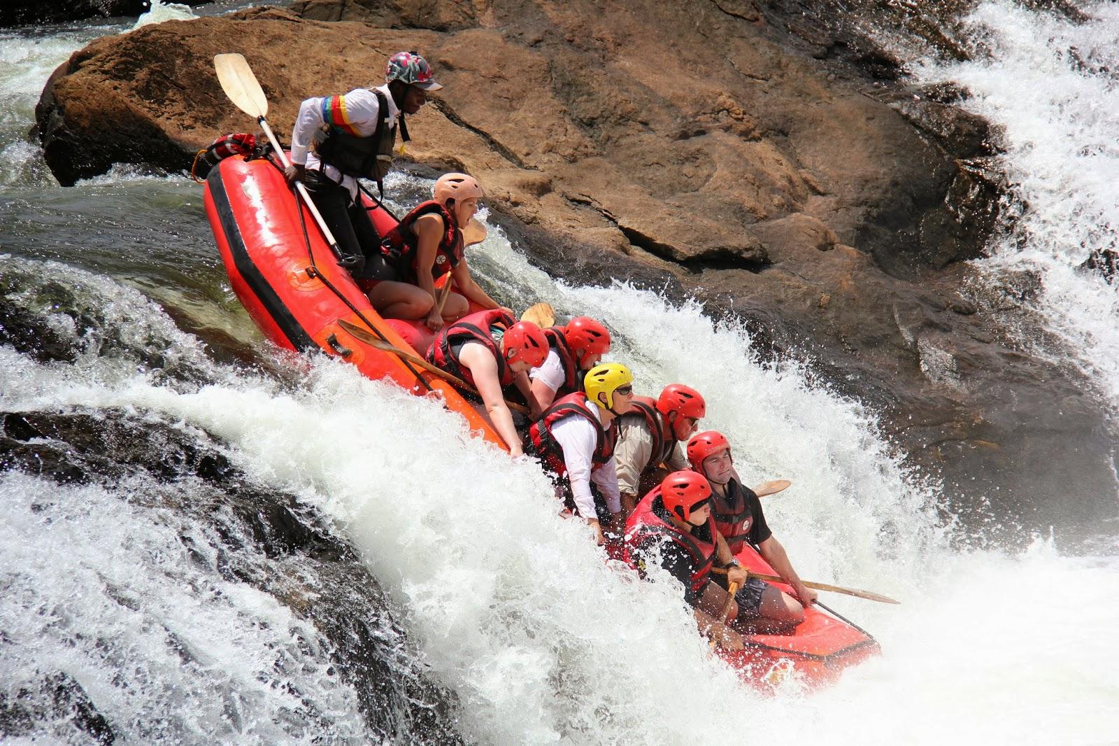 Ordinary Life Rafting Uganda S White Nile Class V