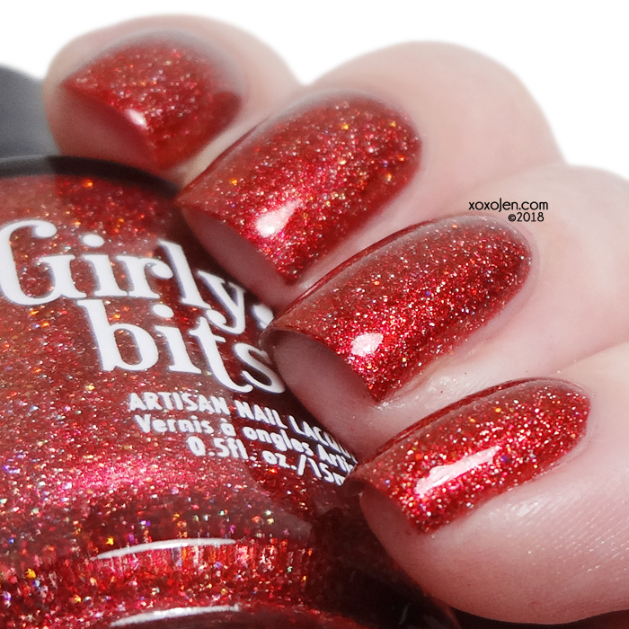 xoxoJen's swatch of Girly Bits No Fawkes Given