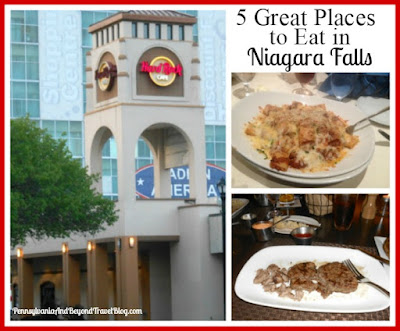 5 Great Places to Eat in Niagara Falls New York