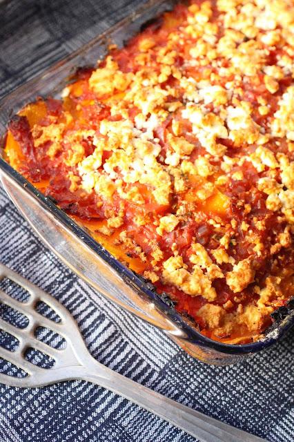 lasagne potimarron feta