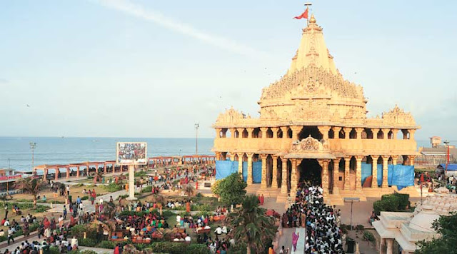somnath temple history in hindi, somnath temple photo