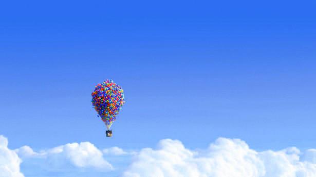 cenas de Up Altas Aventuras, um filme sobre seguir sonhos