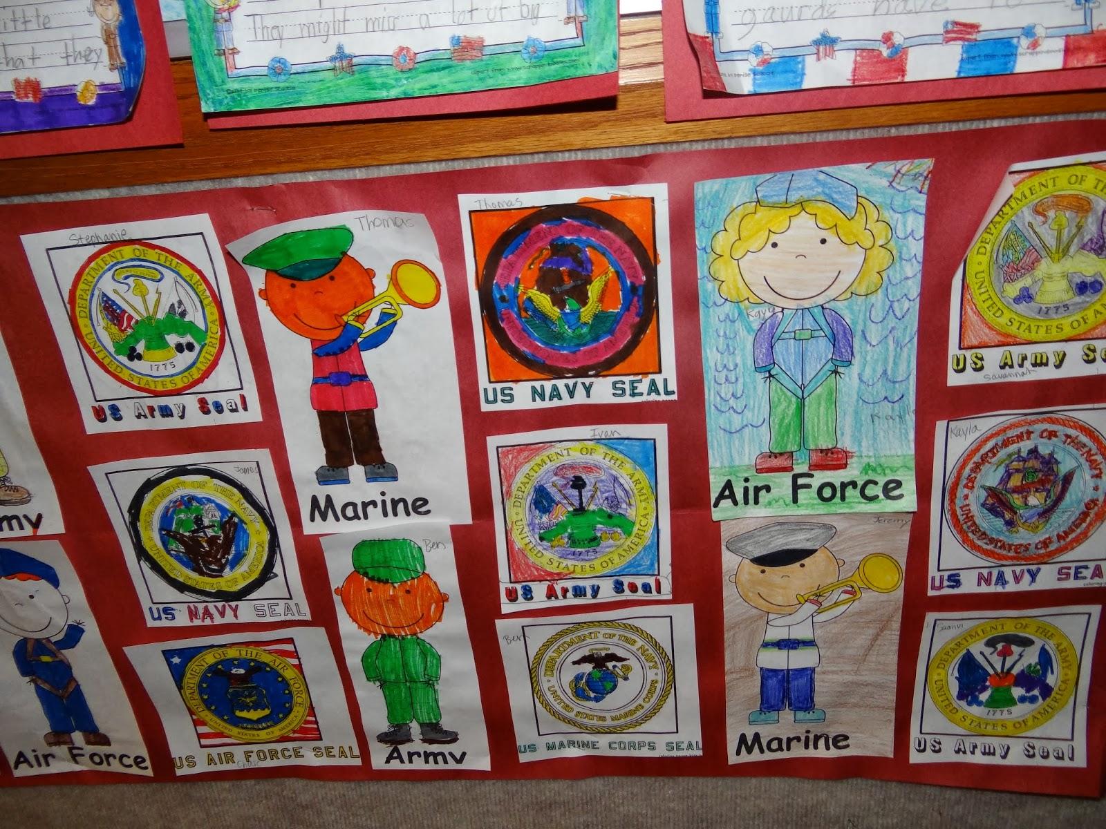 Veterans Day Handprint art – Patties Classroom [ 1200 x 1600 Pixel ]