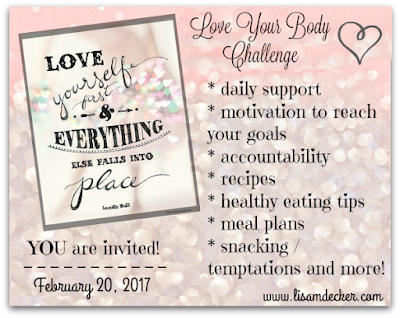 Love Your Body Challenge, Online Health and Fitness groups, Meal Planning, 21 Day Fix, Home Fitness, Health and Fitness Accountability, Fitness Support, Healthy Recipes, Successfully Fit, Lisa Decker