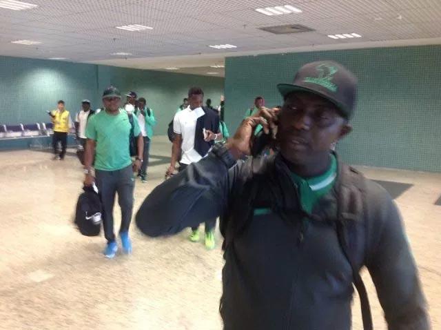 Nigeria U-23 Olympic Eagles finally arrive Rio, Brazil