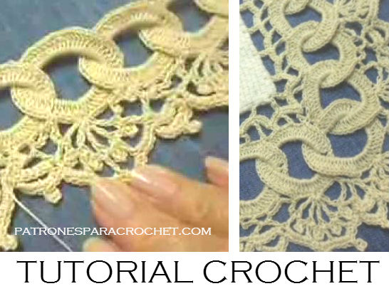Tutorial puntilla crochet