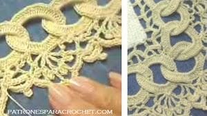 Aprende a tejer una orilla para mantel al crochet / Tutorial