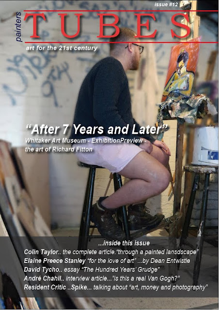 painters TUBES magazine - new issue