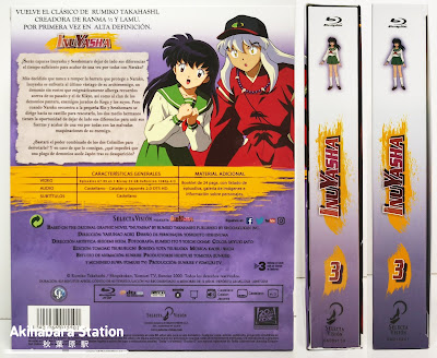 "Anime: Review de ""Inuyasha Box 3 Ep 67-99 Blu-Ray"" - Selecta Visión"