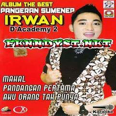 Irwan D'Academy 2 - The Best Pangeran Sumenep Irwan D'Academy 2 (2015) Album cover