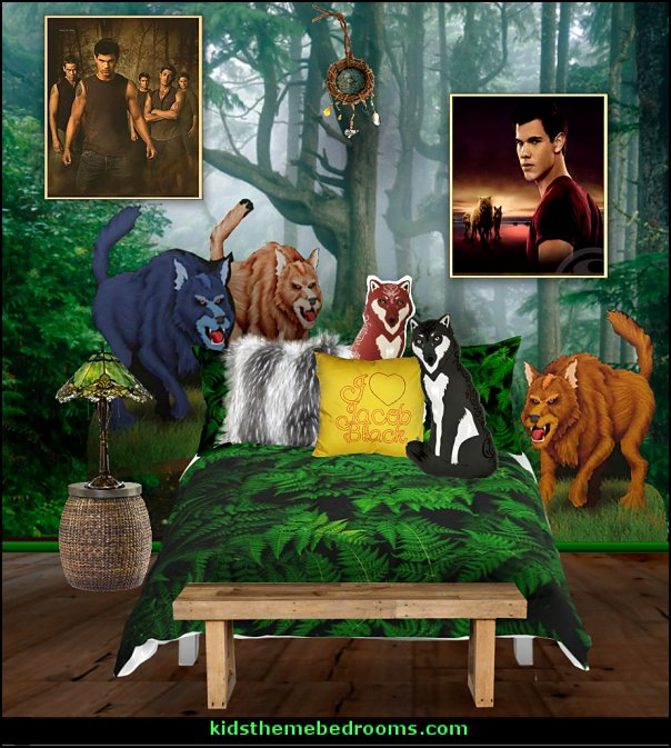 TWILIGHT WOLF THEME BEDROOM Jacob bedroom ideas