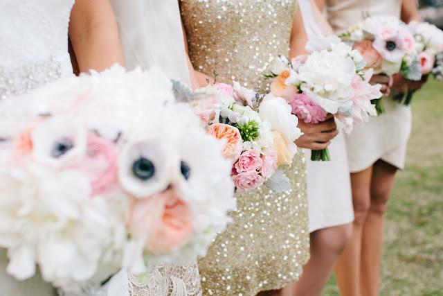 shabby+chic+wedding+spring+summer+pastel+champagne+pink+black+white+bride+groom+bouquet+ceremony+centerpiece+floral+flower+bridesmaid+dresses+dress+riverland+studios+11 - Charleston Pastel