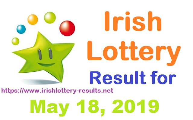 Irish Lottery Results for Saturday, May 18, 2019