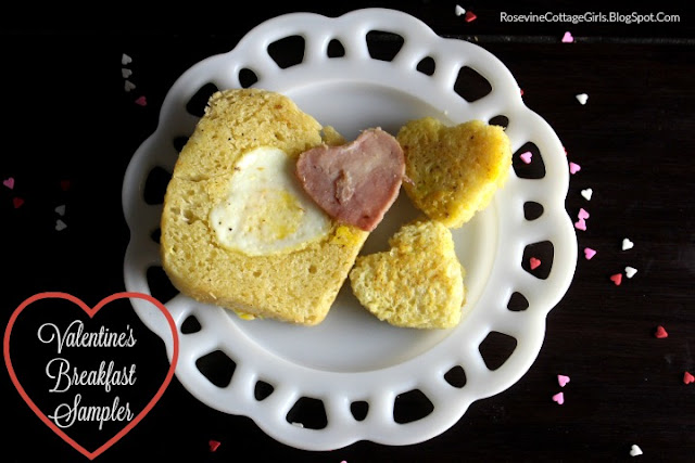 French Toast, Ham, Eggs In A Basket