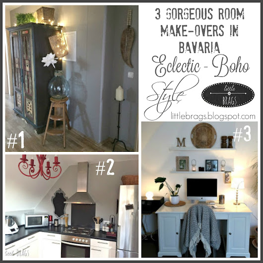 3 Gorgeous BOHO STYLE Room Make-Overs In Bavaria