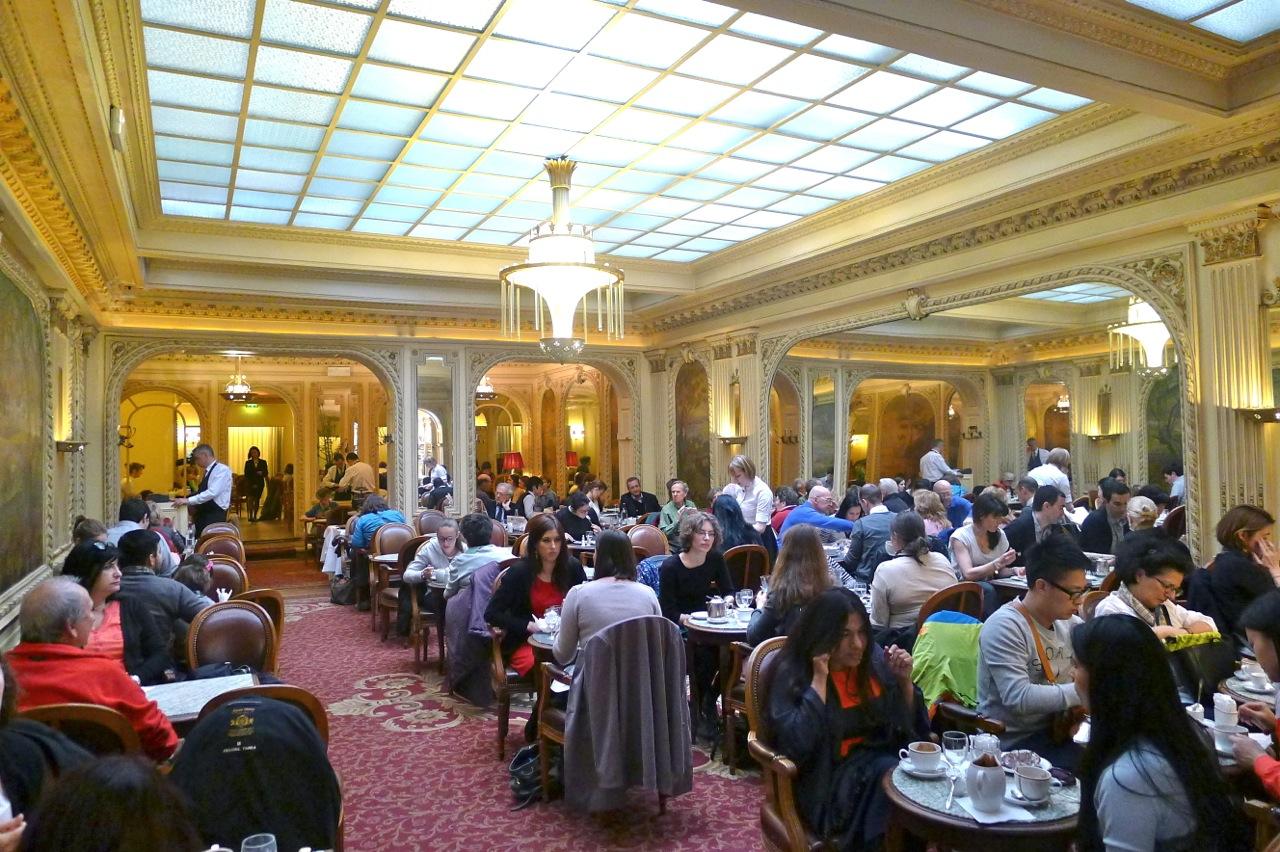 Tea time in paris - Salon de the angelina paris ...