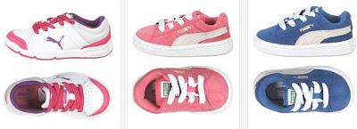 Zapatillas de marca Puma para niña o niño