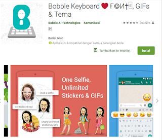 download aplikasi stiker wajah
