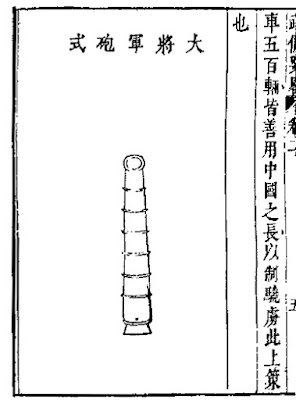 Ming Chinese General Cannon