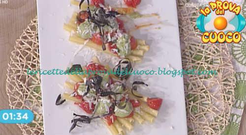 Prova del cuoco - Ingredienti e procedimento della ricetta Ziti alla Norma di Mauro Improta