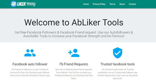 how to get auto followers on facebook