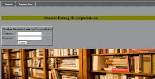 Gratis Kumpulan Contoh Aplikasi Perpustakaan Full Berbasis Web