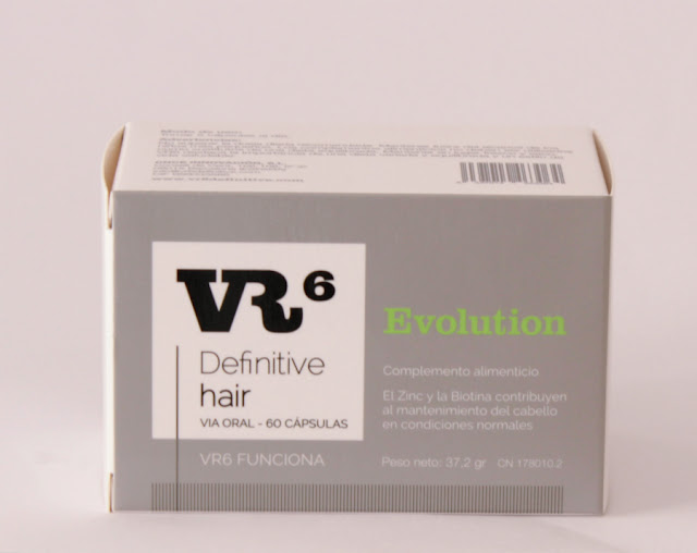 VR6 Definitive hair capsulas anticaída del cabello