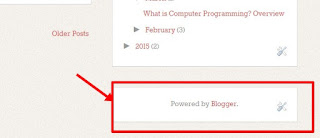 Blog with Power by Blogger Attribution