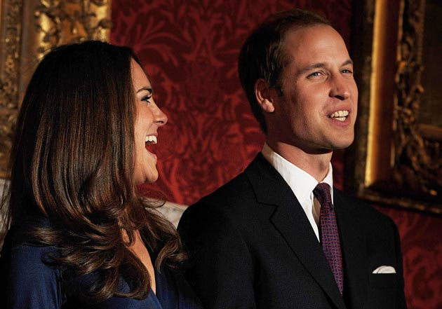 Guillermo Kate Middleton reyes inglaterra