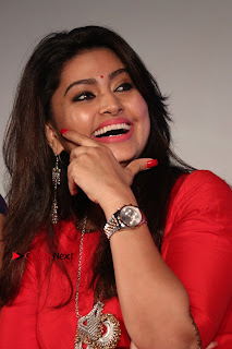 Actress Sneha Latest Stills in Red Dress at Simba Audio Launch  0010.jpg