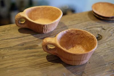 自然派ワイン&コーヒー店 peg(ペグ)kancraftの特製カップ