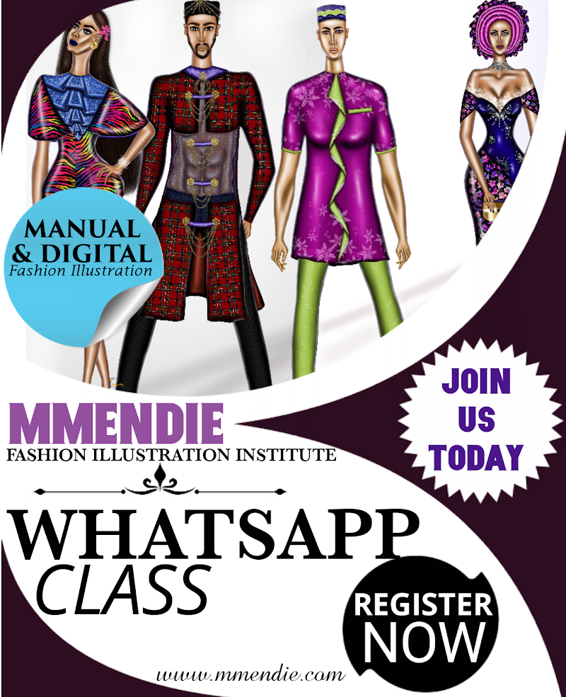 """ONE MONTH INTENSIVE WHATSAPP CLASS - """"Learn Fashion Illustration From The Comfort Of Your Home"""""""