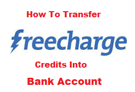 FreeCharge Balance to Bank account Transfer Trick