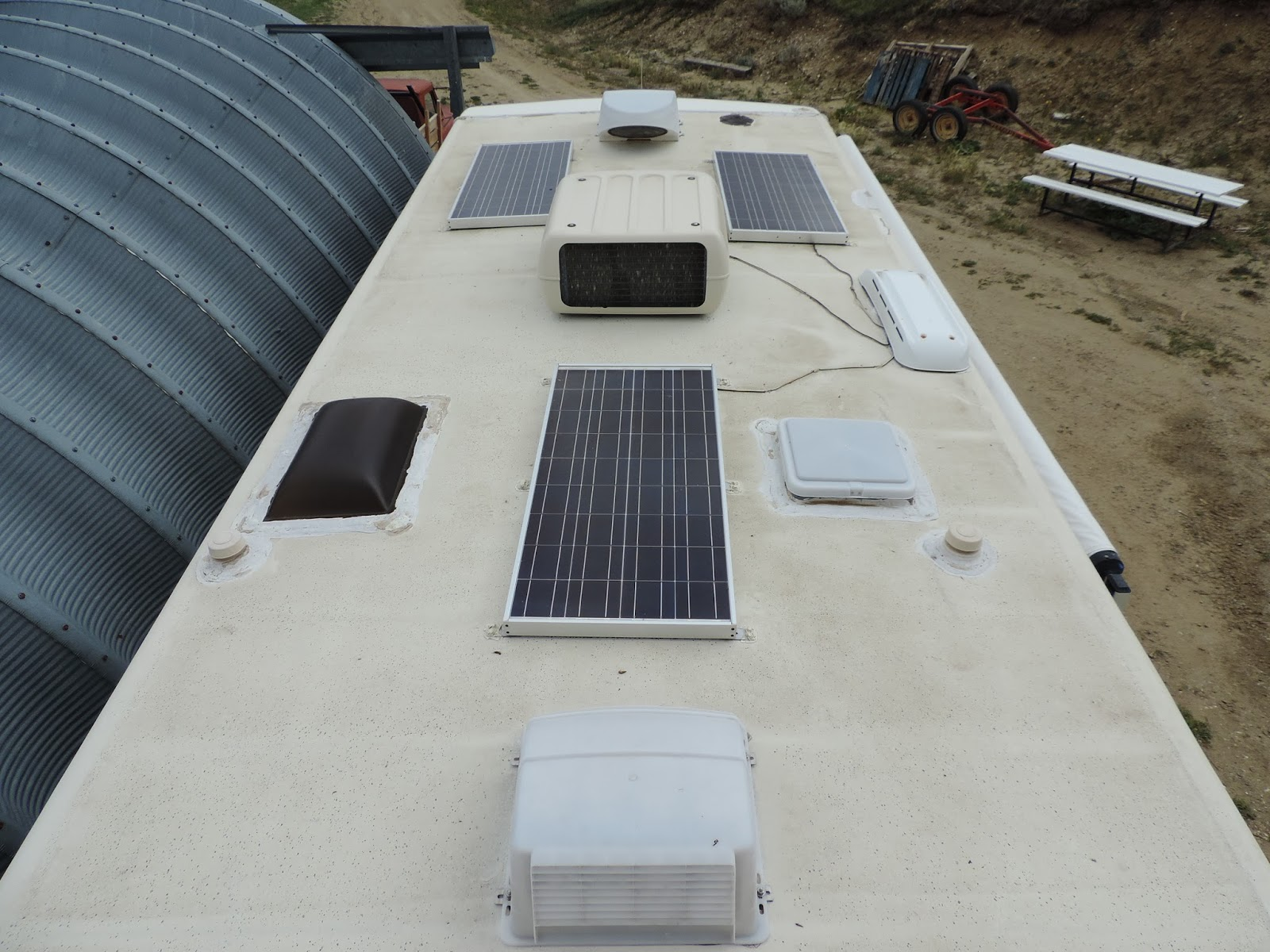 Travel With Kevin And Ruth Rv Rubber Roof Coating