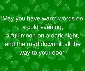 St Patrick's day acrostic poem (2018)