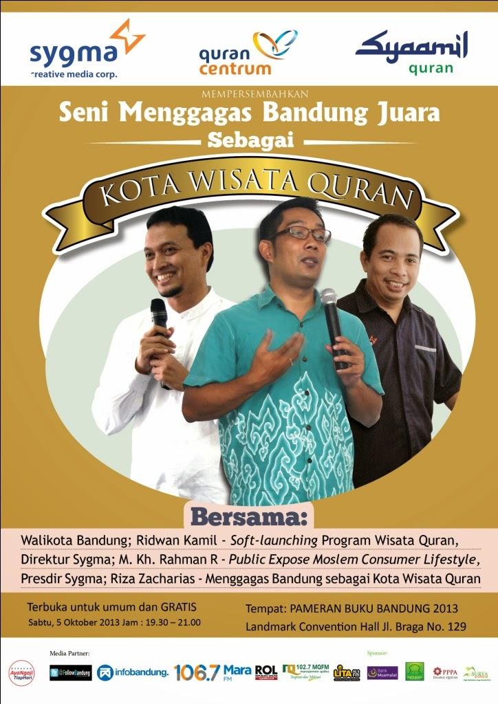 Follow Bandung Launching Syaamil Quran Sebagai Pusat