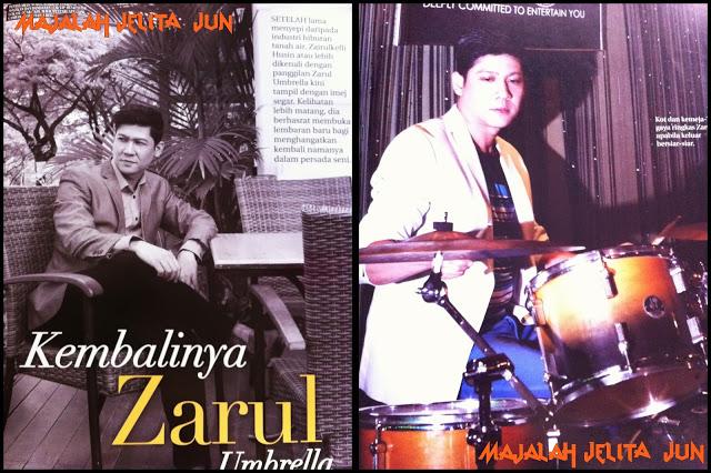 Biodata Lengkap Zarul Umbrella Gegar Vaganza 2016